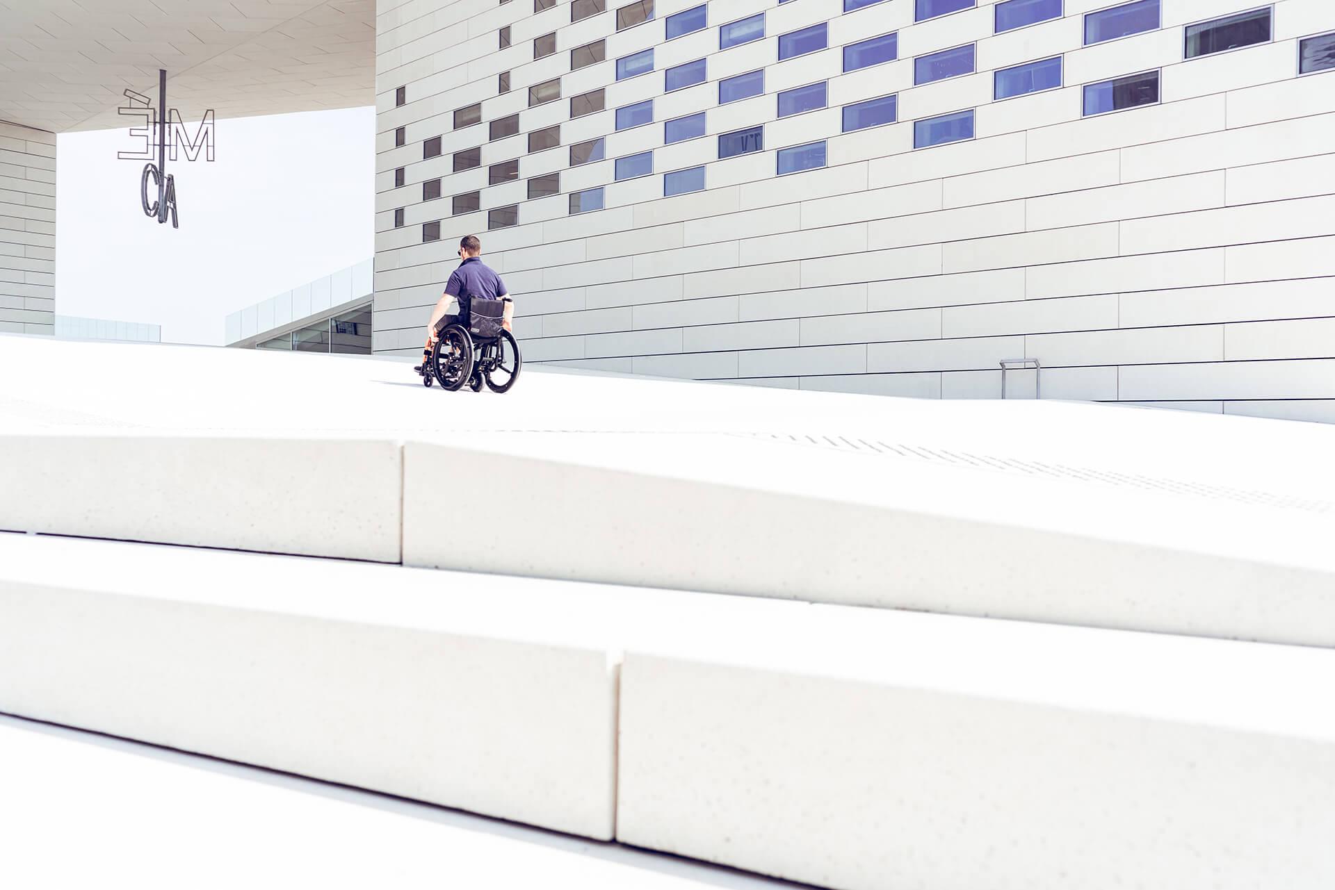 Yomper+, assistance moteur pour fauteuil roulant