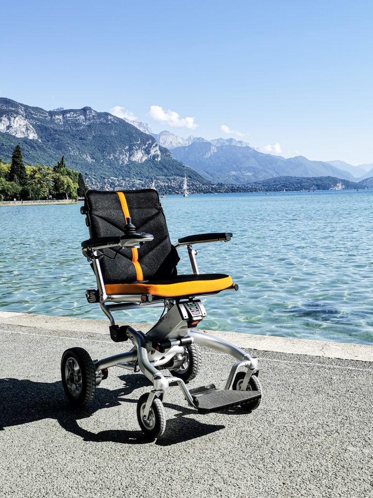 SmartChair Travel, fauteuil roulant électrique voyage